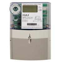 Wholesale PC Plastic Secure Single Phase Energy Meter , kilowatt hour meter with BS / DIN layout from china suppliers