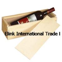 Wholesale China Custom Portable Antique Wooden Wine Case for One Bottle from china suppliers