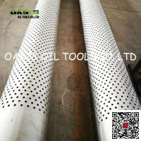"Wholesale Stainless Steel 316L 16"" Perforated Casing Pipe for Horizontal Well from china suppliers"