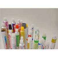 Buy cheap Aluminum Metal Squeeze Tubes For Gels For The Use Of Ophthalmology from wholesalers