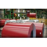 China 610mm RAL Color Galvanized Prepainted Steel Coils with Protective Film on sale