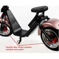 Wholesale 60V/12Ah Front Rear Hydraulic Disc Brake Citycoco 2 Wheel Electric Scooter from china suppliers