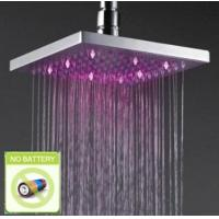 Wholesale 8 inch LED Lighting Square Shower Head, FD-2004-02 from china suppliers