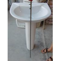 Wholesale 738 Ceramic Pedestal basin from china suppliers