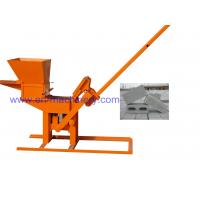 Wholesale Product To Import To South Africa 1-40 Manual Clay Interlocking Brick Making Machine from china suppliers
