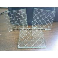 Wholesale Clear/Color Nashiji Wired Glass from china suppliers