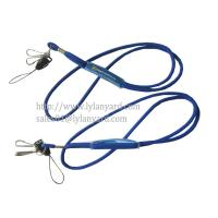 Wholesale 3mm Round Jacquard Logo Rope Cord Lanyard from china suppliers