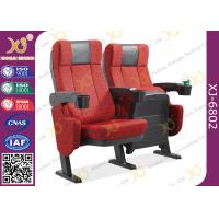 Wholesale ISO Certification Padding Armrest Theatre Seating Chairs Flame Retardant Fabric from china suppliers