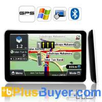 "Wholesale 5"" HD Touch Screen GPS Navigator (800 x 480, 600MHz CPU, 1600 mAh) from china suppliers"