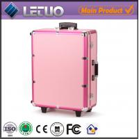 Wholesale rolling beauty case cosmetic case makeup case with lights from china suppliers
