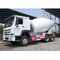 Wholesale HOWO 6x4 Concrete Agitator Truck , 8 Cubic Meters 8M3 Cement Mixer Truck from china suppliers