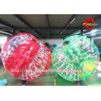 Wholesale Team Games Human Inflatable Bumper Bubble Ball 1.5m Transparent For Adults from china suppliers