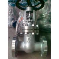 Wholesale API 600 Class 300 Flanged Gate Valve , 4 OS & Y Gate Valve Stainless Steel from china suppliers