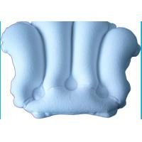 Quality Professional bath neck pillow inflatable cushions with Lovely Design for sale