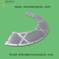 Wholesale paper pulp drilled screen plate from china suppliers