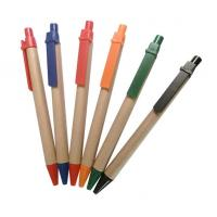 Wholesale logo printed personalized eco paper gift ball pen,eco green paper pen from china factory from china suppliers