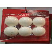 Wholesale Professional 1 Star Table Tennis Balls / Colored Ping Pong Balls For Training from china suppliers