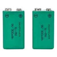 Wholesale 300mAh 9V Prismatic NiMh Battery Packs for Multimeter CE UL Rohs from china suppliers