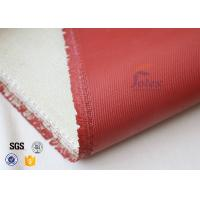 Wholesale 1200℃ Red Silicone Coated High Silica Fabric For Thermal Insulation Materials from china suppliers