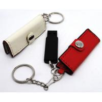 Wholesale Leather USB 2.0 memory flash drive stick pen 128GB Storage U Disk from china suppliers