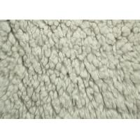Wholesale 100% Polyester Berber Fleece Fabric White Color Back Print With SGS Certification from china suppliers