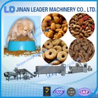 Wholesale Low consumption dog cat pet food extrusion processing machinery from china suppliers