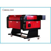 Wholesale Small Desktop 50w 60w CO2 Laser Engraving Cutting Machine For Fabric Textile from china suppliers