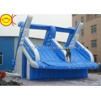 Wholesale Giant Dolphin Style Inflatable Water Slide Double Stitching Workmanship from china suppliers