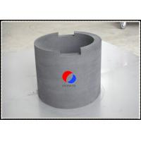 Wholesale 45MM Thick Rigid Graphite Felt Cylinder PAN Based High Temperature Resistance from china suppliers