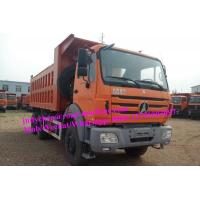 Wholesale Orange Beiben 6x4 dump truck 350hp / 375hp Weichai engine loading 35t - 40t from china suppliers