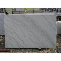 Quality Guangxi White Marble Slab (LY-334) for sale
