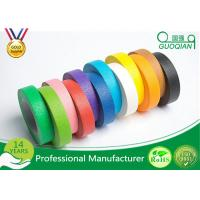 Buy cheap High flexibility Rainbow Coloured Masking Tape For Painting , Easy To Remove from wholesalers
