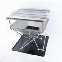 Wholesale DIY BBQ grill with mesh and cloth bag, made of 304 stainless steel from china suppliers