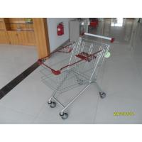 Quality Popular 125L Grocery Store Shopping Cart / Shopping Push Cart 901x565x1006mm for sale