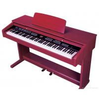 Wholesale Melamine Shell Red 88 Key Digital Piano , Electronic Keyboard Piano from china suppliers