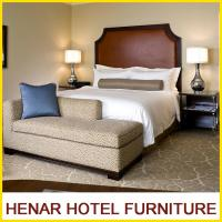 Wholesale Hampton Inn 5 Star Wooden Hotel Bedroom Furniture King size Brown Upholstered from china suppliers