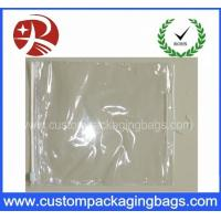 Wholesale Slider Zipper Plastic Clear PVC Hook Bag for Clothing / Underwear Packing from china suppliers