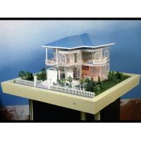 Wholesale Acrylic Nice Scale Model Scenery , Lighting Villa Building Layout from china suppliers