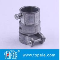 Buy cheap Zinc Flexible Metal EMT Conduit And Fittings , Combination Connector from wholesalers