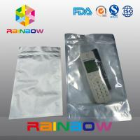 Wholesale Foil front transparent electronics packaging anti static bag with ziplock from china suppliers