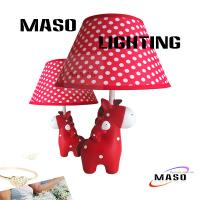 Wholesale MASO Cartoon Animal Table Light Resin Material Deer Lamp E14 Base LED replacable MS-T3011 from china suppliers