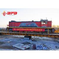 Wholesale Custom Electric Industrial Transfer Car Free Rotating Railroad Train Turntable Design from china suppliers