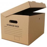 Wholesale Thick Storage Boxes Cardboard For Custom Cardboard Shipping Boxes from china suppliers