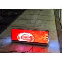Wholesale IP65 P5 Taxi Top LED Sign Advertising Screens 192*64dot Resolution 2 Years Warranty from china suppliers