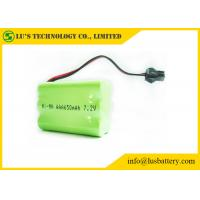Wholesale 7.2V 650mah AAA Nickel Metal Hydride Rechargeable Batteries from china suppliers