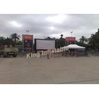 Wholesale PVC Tarpaulin Outdoor Inflatable Movie Screen With Airtight System from china suppliers