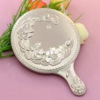 Wholesale Mini Portable Make Up Mirror / Sterling Silver Compact Mirror For Purse from china suppliers