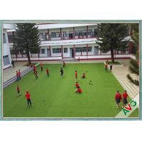 Wholesale W Shape High Resilience Outdoor Artificial Grass Landscaping Artificial Grass from china suppliers