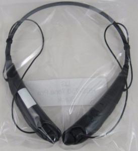 NEW GENUINE LG Tone PRO™ HBS-750 Black Bluetooth Stereo Headset