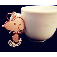 Wholesale high quality snoopy keychain,dog tag from china suppliers